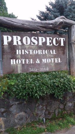 Prospect Historic Hotel - Motel and Dinner House: The Historic Prospect Hotel