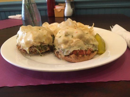 Stroudsburg, PA: Tuna melt sandiwch special on an English muffin