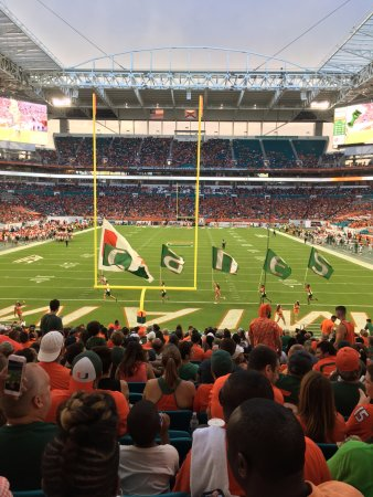 Hard Rock Stadium Picture Of Dolphin Stadium Miami