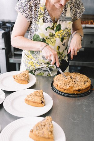 Monroe, GA: Delicious coffee cake