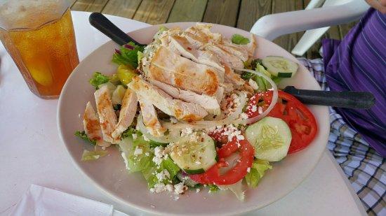 Palmetto, Floryda: Riverside Cafe Greek Salad_large.jpg