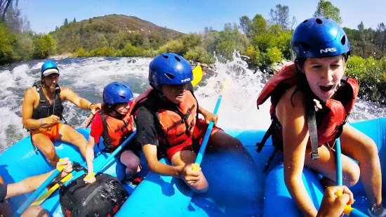 Lotus, CA: white water river rafting