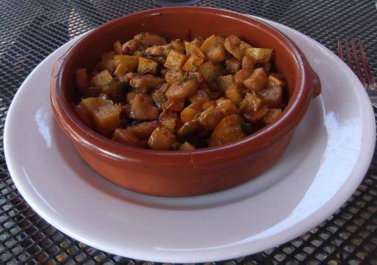 Restaurant Sa Mata: Fried seafood