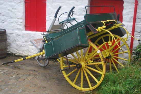 Omagh, UK: Typical Irish Transport!