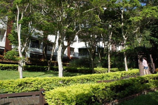 Silks Place Taroko: 外圍景觀步道
