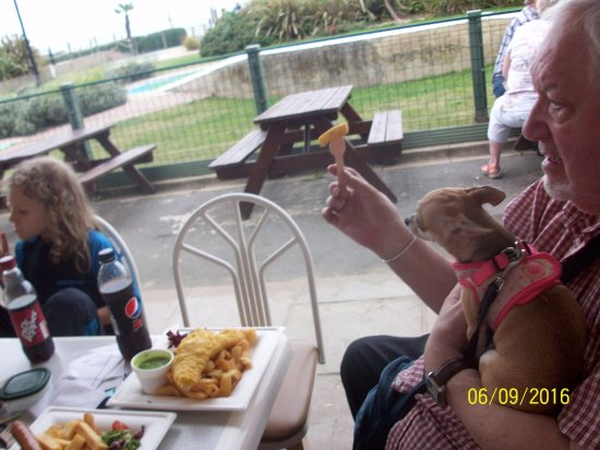 Pirates Cove - Shanklin: Clubhouse Cafe