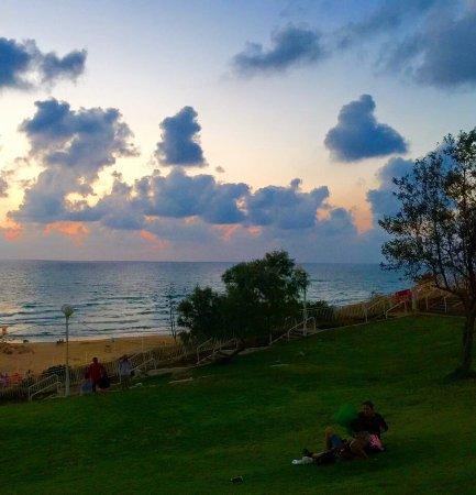 Bat Yam, Ισραήλ: Это мой город , моя красивая набережная ....