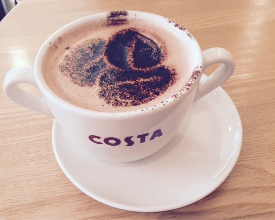 Longton, UK: Costa Coffee
