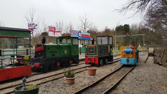 Ashington, UK: Our Three Resident Locomotives