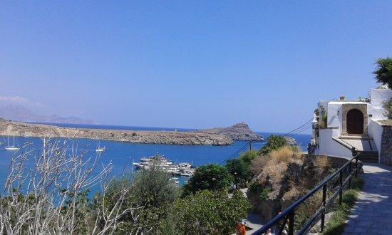 Vlycha, Grèce : lindos