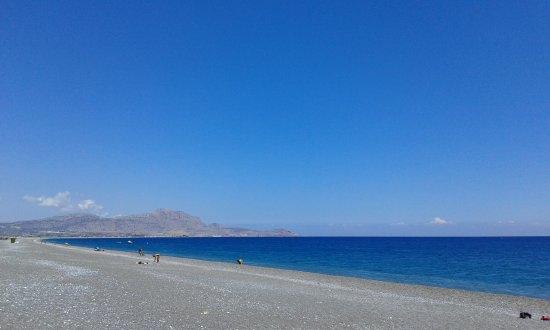 Vlycha, Grèce : kalathos strand