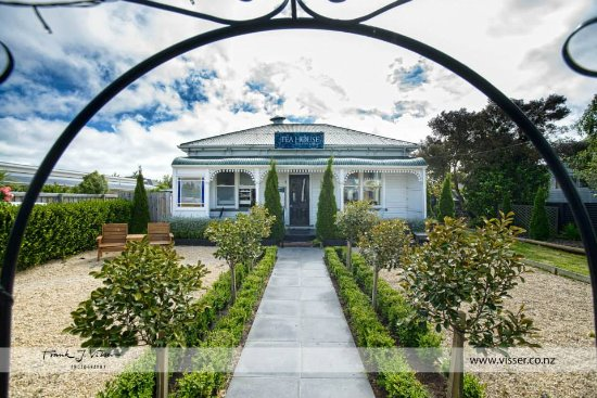 Lincoln, New Zealand: The front entrance of The Tea House