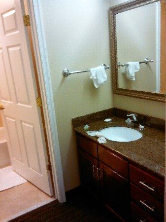 Vanity Outside of Bathroom