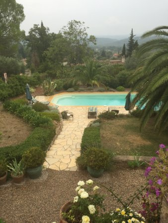 Seillans, Francia: Pool