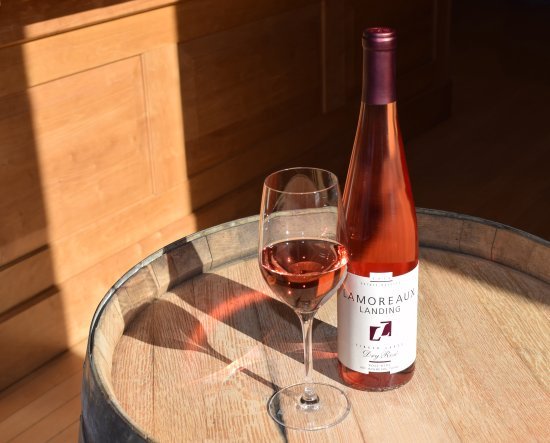 Lodi, NY: Dry Rosé from Lamoreaux Landing Wine Cellars