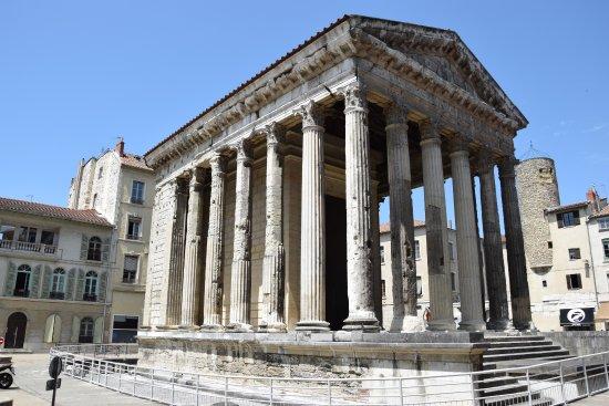 Vienne, Frankrike: Templo de Lívia e Augusto.
