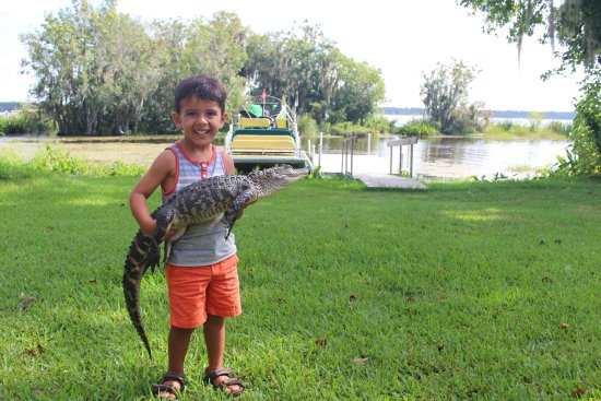 Swamp Fever Airboat Adventures: Jaxon a 3 1/2 year old, showing the grown ups how it's done when you CATCH THE FEVER!!!