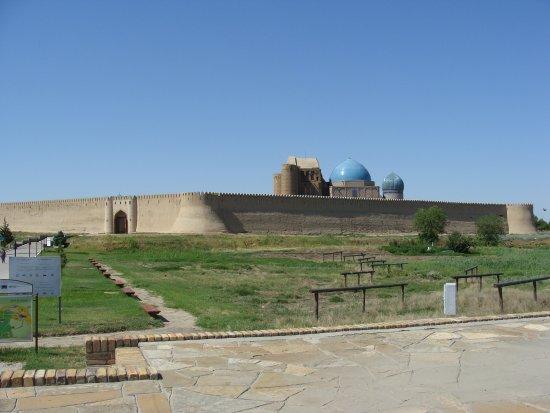 Turkestan, Kasachstan: Мавзолей Ходжи Ахмеда Ясави