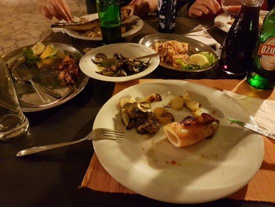 Dugi Island, Kroatien: Das war mein vorzügliches Kalamari