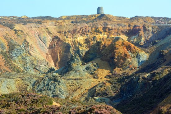 Amlwch, UK: The main quarry