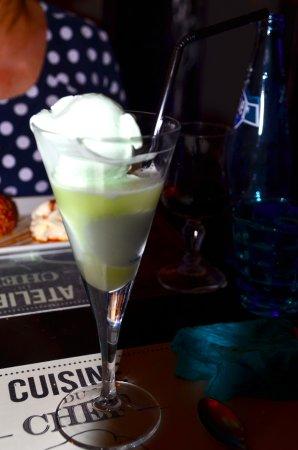La Pizzeria : 2 bollen ijscrème 'citron vert' met Limoncello