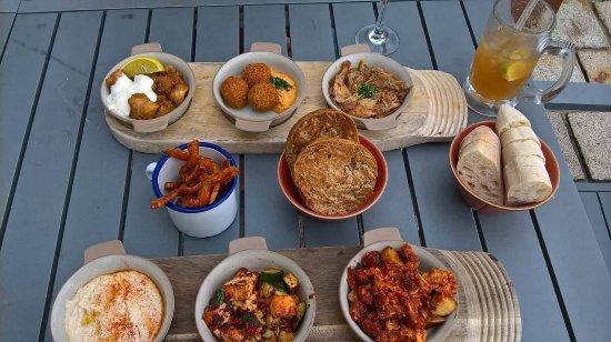 Choices of Gluten Free Tapas & vegan amazing & delicious