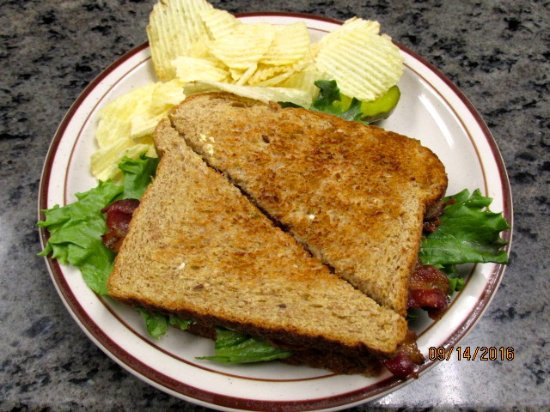 Keene Valley, Нью-Йорк: BLT lunch