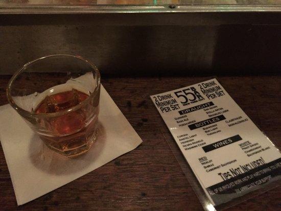55 Bar : Two drinks minimun!!!