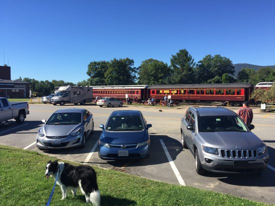 Conway Scenic Railroad: Dog friendly train ride.