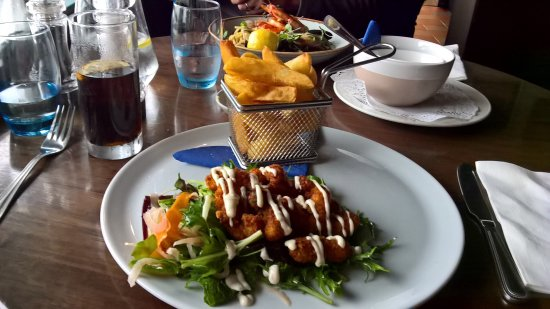Barna, Irlanda: A super lunch on a Wild Atlantic day!
