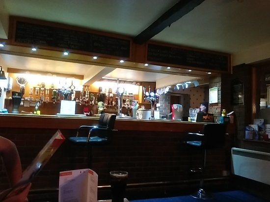 The Bar Area at The Sun Inn Wigton