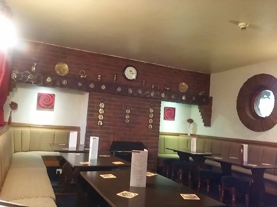 Wigton, UK: The Bar Area