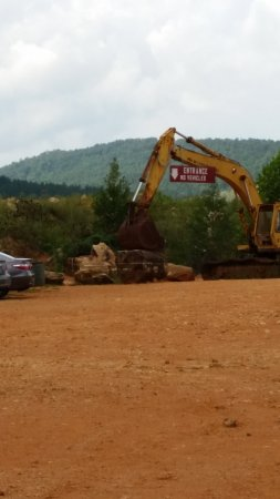 Jessieville, AR: Entrance to the digging area