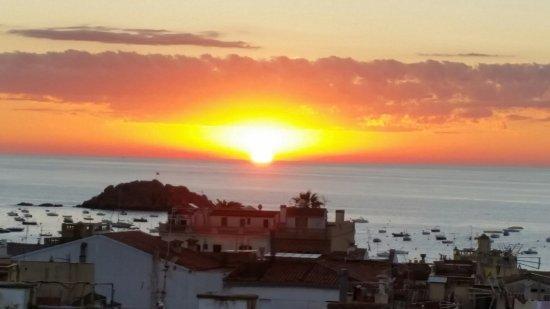 Hotel Tarull: Sonnenaufgang Dachterrasse