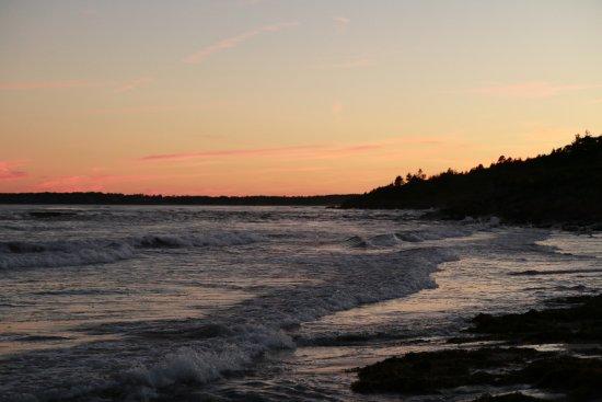 Higgins Beach: evening shot