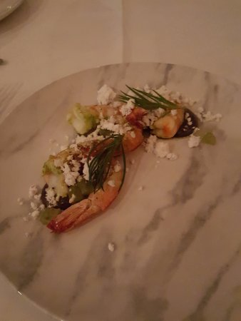 Rickys River Bar + Restaurant: Roasted Mooloolaba prawns