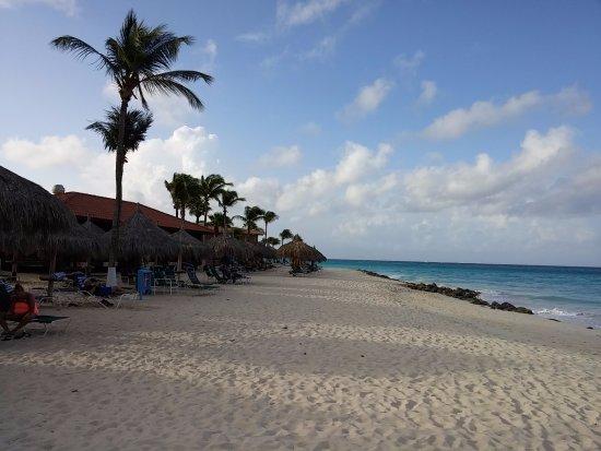 Aruba Beach Club - on the beach