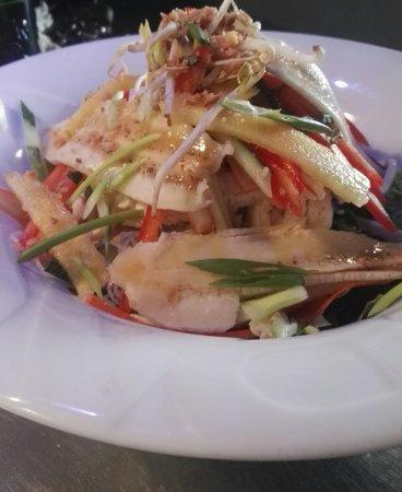 Auterive, فرنسا: Salade exotique