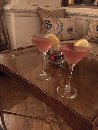 Ston Easton, UK: Cocktails :)