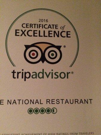 The National Restaurant: photo1.jpg