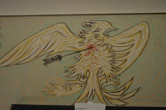 Salle des Mariages Jean Cocteau : The eagle with the arrow