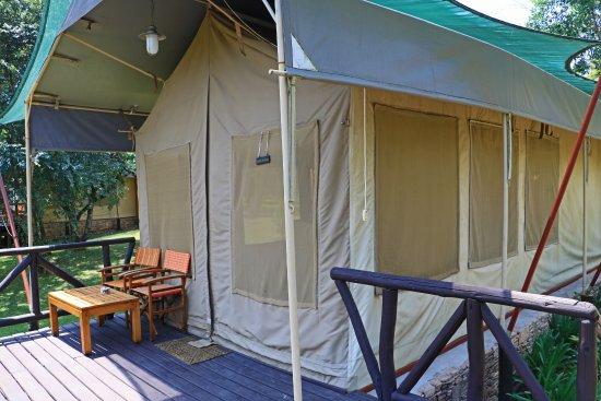 Fairmont Mara Safari Club : The glamorous tent on the river bend