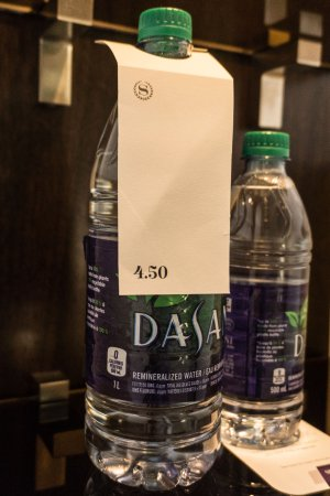 over-priced water