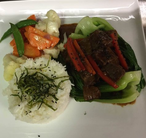Cravings Restaurant And Sports Bar: asian braise beef