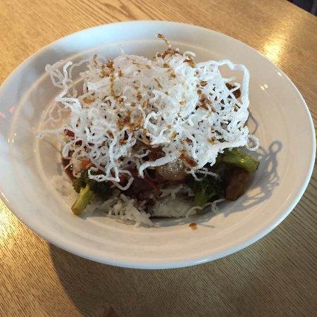 Cravings Restaurant And Sports Bar: teriyaki rice bowl