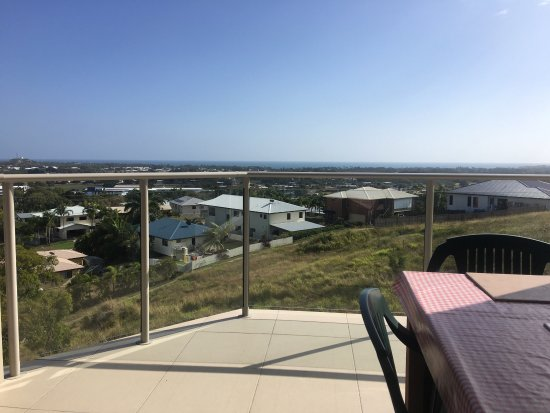 Breakfast with a stunning view of Bowen