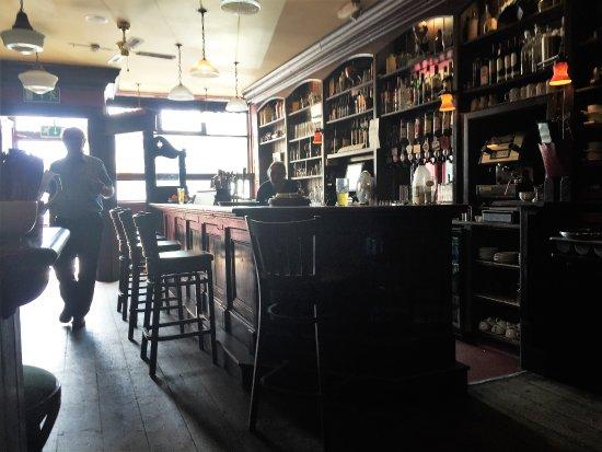 Bar at Crotty's Pub, Kilrush
