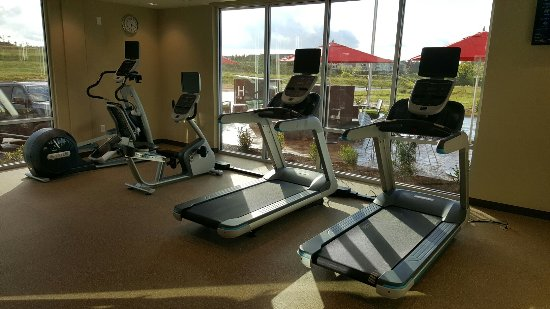 Grovetown, Geórgia: Fitness center with nice view.