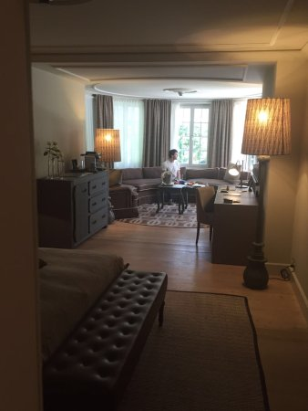 Le Grand Bellevue: Our fantastic tower room