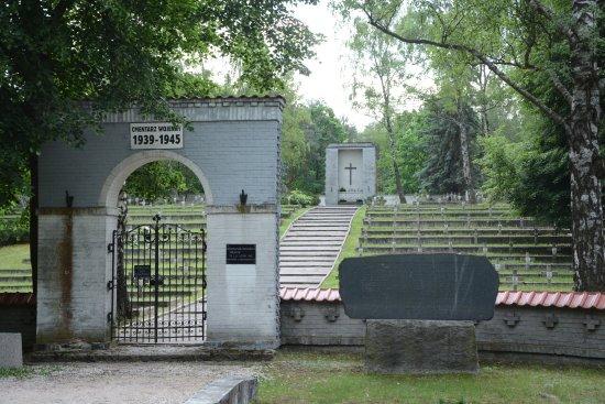 Izabelin, โปแลนด์: WWII cemetery in Laski